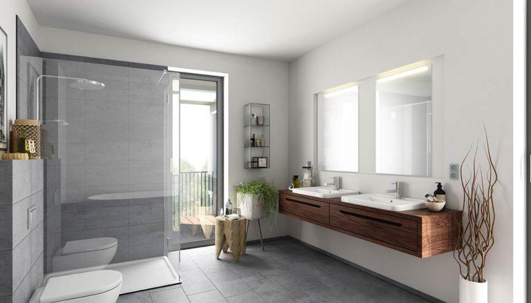 Badezimmer, Bäder, Renovierung und Sanierung, Fliesen, Marcel Preuß
